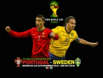 FIFA World Cup European playoffs Portugal vs Sweden