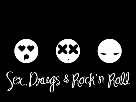 Sex Drugs And Rockand Roll Other Abstract Background