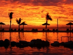 Fijian Sunset