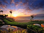 Wailea Sunset Hawaii