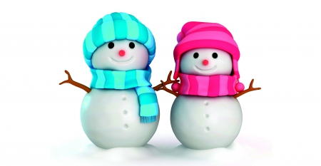 cute snowmen other abstract background wallpapers on desktop