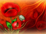 ✰Red Poppies✰