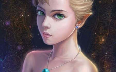 elf princess fantasy amp abstract background wallpapers on