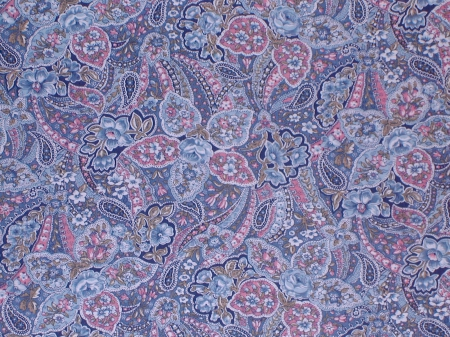 Blue Paisley Pattern - Textures & Abstract Background ...