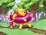 Winnie & Piglet Summertime