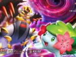 Giratina and Shaymin