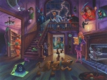 Scooby and the Haunted Mansion