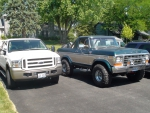 Ford Excursion and Broncho