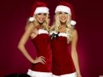 Sexy Santa Twins