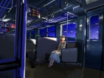 train ride at night