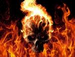 Ghost Rider Skull