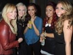 Emma Button & Perrie Edwards & Jade Thirlwall & Leigh-Anne Pinnock & Jesy Nelson