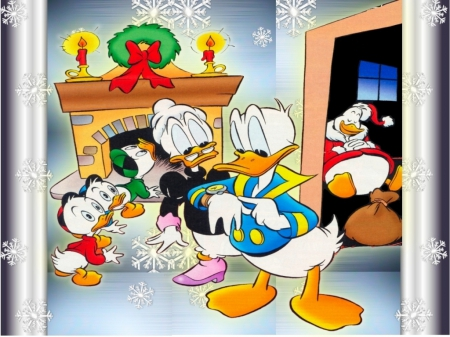 donald duck christmas tv series entertainment background wallpapers on desktop nexus image 1619646 - Donald Duck Christmas