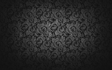 Dark and Silver Piecli Texture  - picli, texture, tendril, dark, silver, black