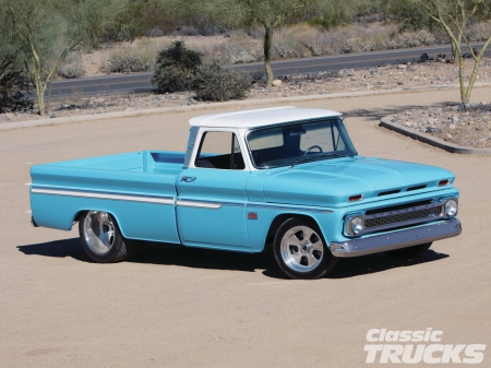 1966 Chevy C10 Chevrolet Cars Background Wallpapers On Desktop
