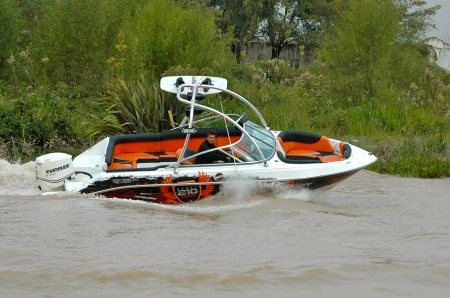 Sport 210 Wake Boat - wake, thrill, boat, ride
