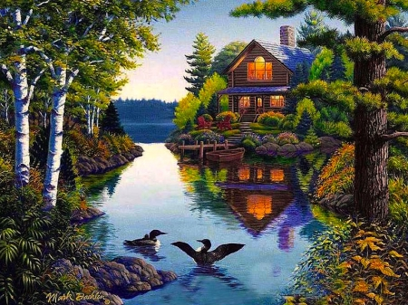 Beautiful Cottage On The Lake