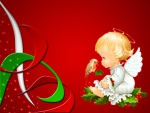 Christmas cherub