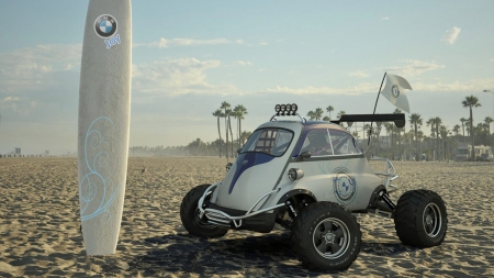 BMW Beach Buggy - cars, beach, dune buggy, bmw, vehicles, atv