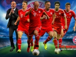 Bayern Munchen Champions League Wallpaper