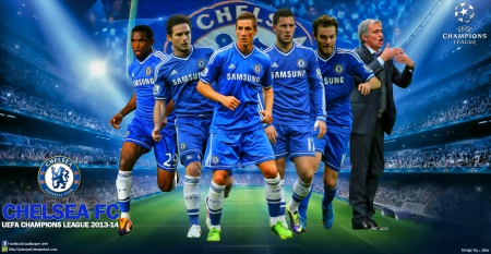 Chelsea Champions League Wallpaper Soccer Sports Background
