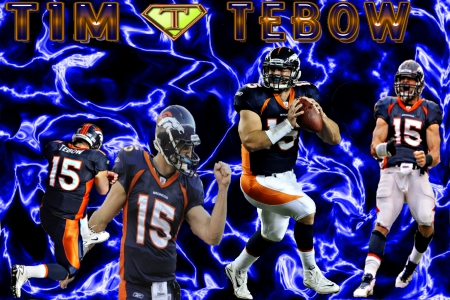 Tim Tebow # 15 - Player, 15, Football, QB