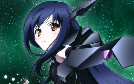 Accel World - Pretty, Anime, Manga, Beautiful, Happy, Smile, Gorgeous, Sweet, Fun, Awesome, Long Hair, Emotional, Black Hair, Playful, Lovely, Amazing, Cute, Accel World, Kuroyukihime, Anime Girl