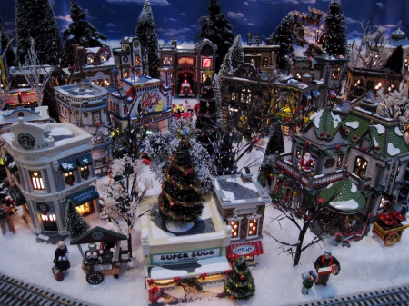 mini christmas village christmas town christmas village christmas decorations mini christmas village - Christmas Town Decorations