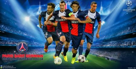 PSG Champions League Wallpaper