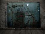 Concrete with Steel Doors