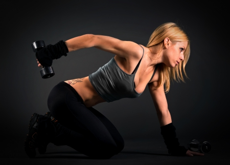 Workout Girl - training, girl, muscle, fitness woman, body, workout, bodybuilding, abs
