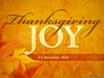 Thanksgiving JOY♥