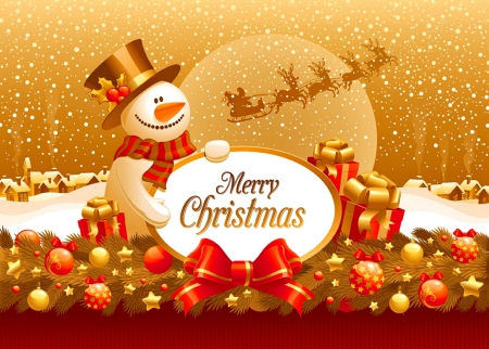 Merry Christmas Other Abstract Background Wallpapers On