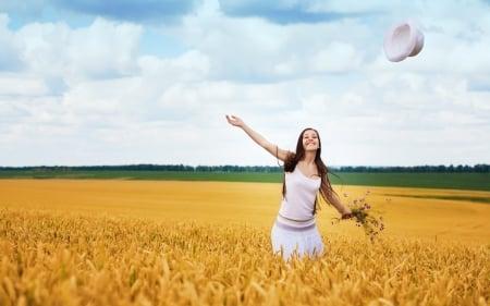 Happy day fields nature background wallpapers on desktop nexus image 1624068 - Happy mood wallpaper ...