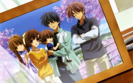 Family Photo Other Anime Background Wallpapers On Desktop