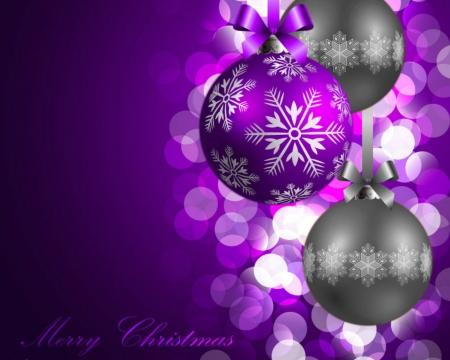 Christmas decor 3d and cg abstract background - Purple christmas desktop wallpaper ...