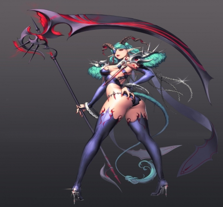 Demon warrior other anime background wallpapers on desktop nexus image 1626575 - Hot demon women ...