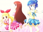 Aikatsu Ichigo, Aoi, and Ran