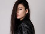 Gintare Tarlovaite gorgeous brunette supermodel