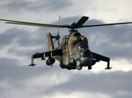 MI 24 Helicopter - hunt, aircraft, thrill, helicopter