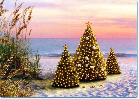 christmas at the beach other abstract background wallpapers on desktop nexus image 1627903 - Christmas At The Beach