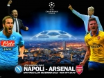CHAMPIONS LEAGUE NAPOLI - ARSENAL