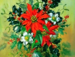 ★Christmas Flowers with Holy★