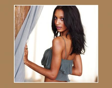 Jasmine Tookes Gorgeous Brunette Supermodel Models Female