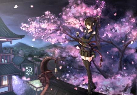 Ninja Girl Other Anime Background Wallpapers On Desktop Nexus