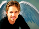 Paul Walker ~ Angel vision (oil painting)