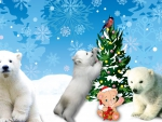 Polar Bears Christmas