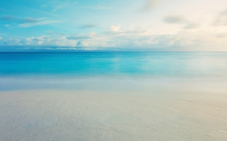 Calm Blue Ocean Oceans Nature Background Wallpapers On