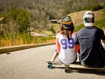 Long Boarding in the Mountains