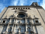 The Santa Maria Cathedral in Girona built in 1733